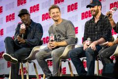 Don Cheadle, Jeremy Renner, & Chris Evans | Photo Credit: Kevin Castillo (@djkastle)