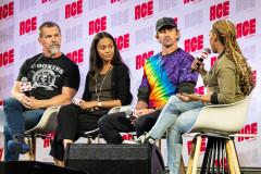 Josh Brolin, Zoe Saldana, & Lee Pace | Photo Credit: Kevin Castillo (@djkastle)