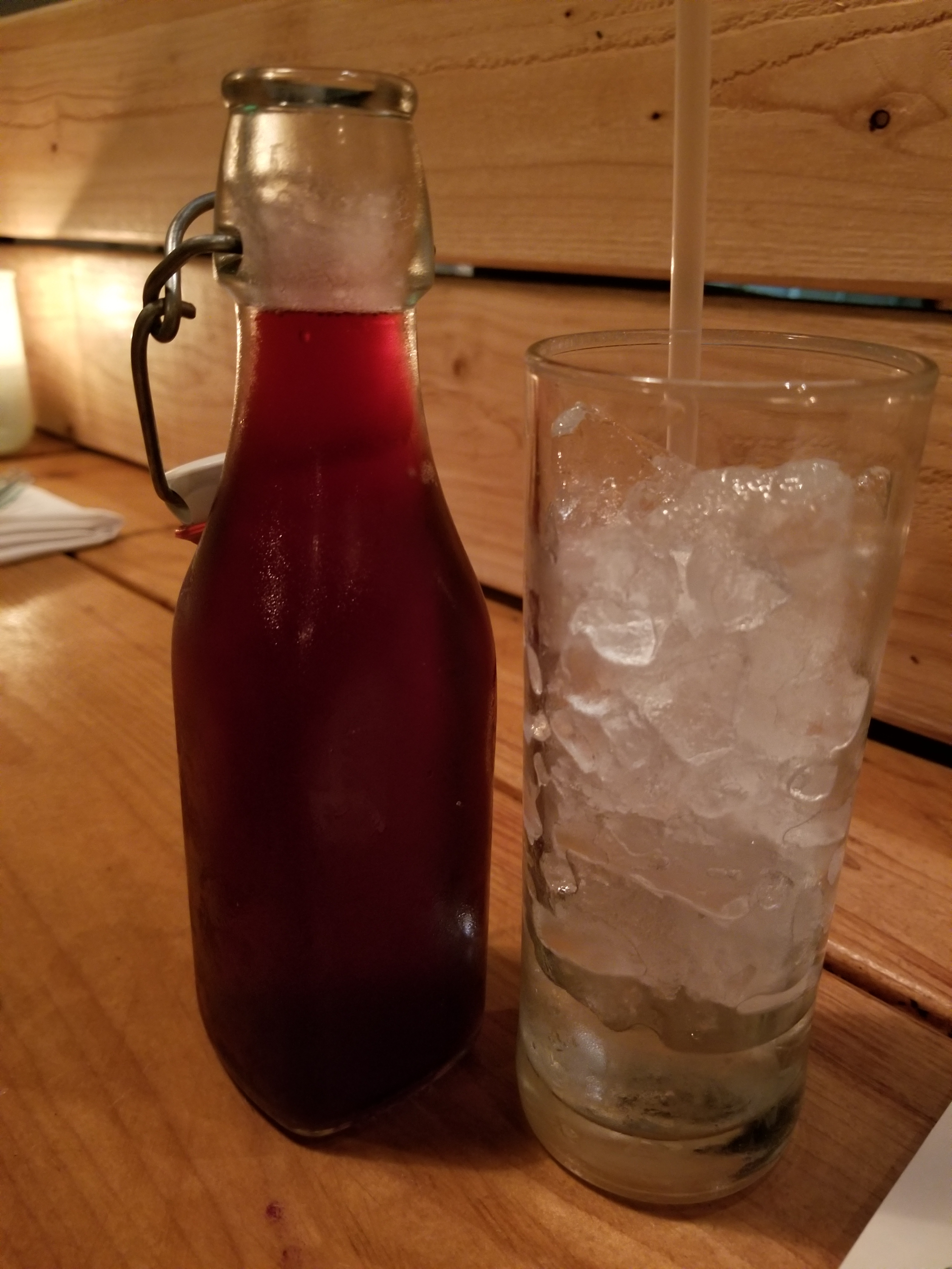 House-made Hibiscus Water