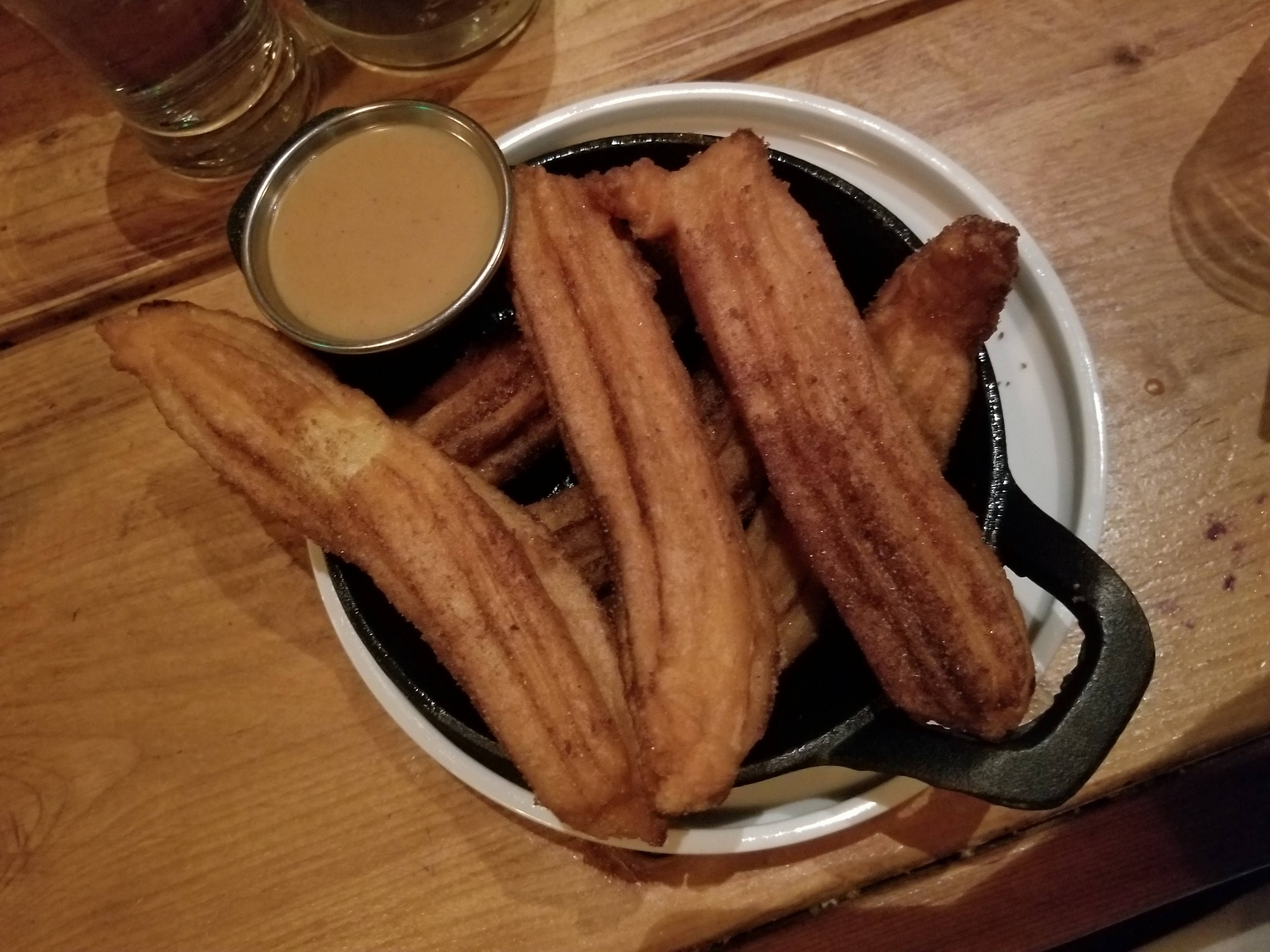 Churros with Dolce de Leche
