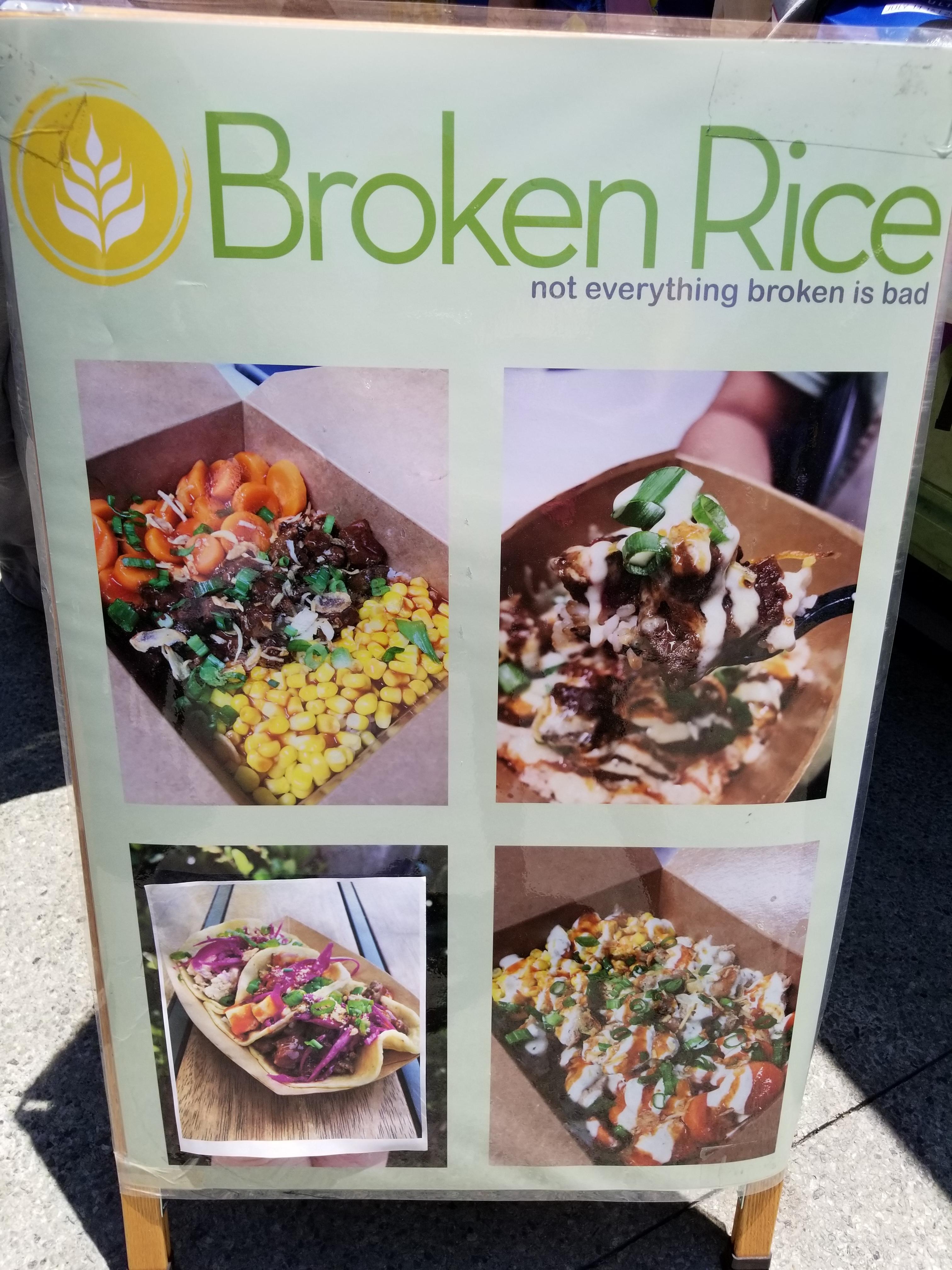 Broken Rice Stand