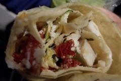 Chicken Pesto Wrap with Pesto Sauce