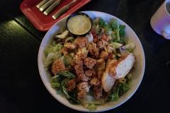 Crispy Chicken Tender Salad