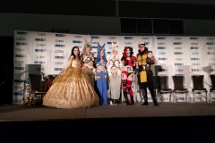 The Judges (L to R): Mimi Reaves, Ellipses Cosplay,  Katy DeCobray, and Stoosh Cosplay