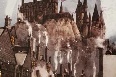 Hogwarts by Gillian Newland Illustration