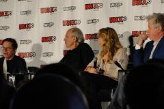 Michael J Fox, Christopher Lloyd, Lea Thompson and Tom Wilson