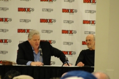 Back to the Future's Tom Wilson and Christopher Lloyd