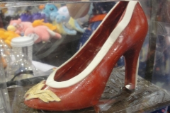 Chocolate Wonder Woman Shoe