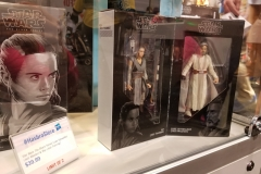 Star Wars: Luke Skywalker and Rey Figurine Set