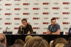 Mark Sheppard Dismissing the Moderator