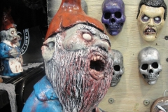 Zombie Gnome losing his guts...