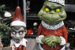 Zombie Elf and Grinch