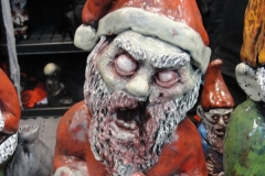 Zombie Santa...Christmas will never be the same again.