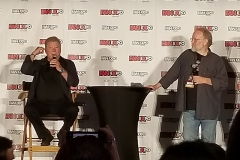William Shatner with John Byrne