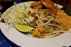 Chef Nuit Pad Thai with Shrimp