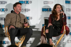 Joe Flanigan & Alaina Huffman