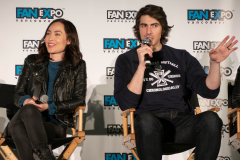 Courtney Ford & Brandon Routh