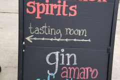 This way to all the gin!