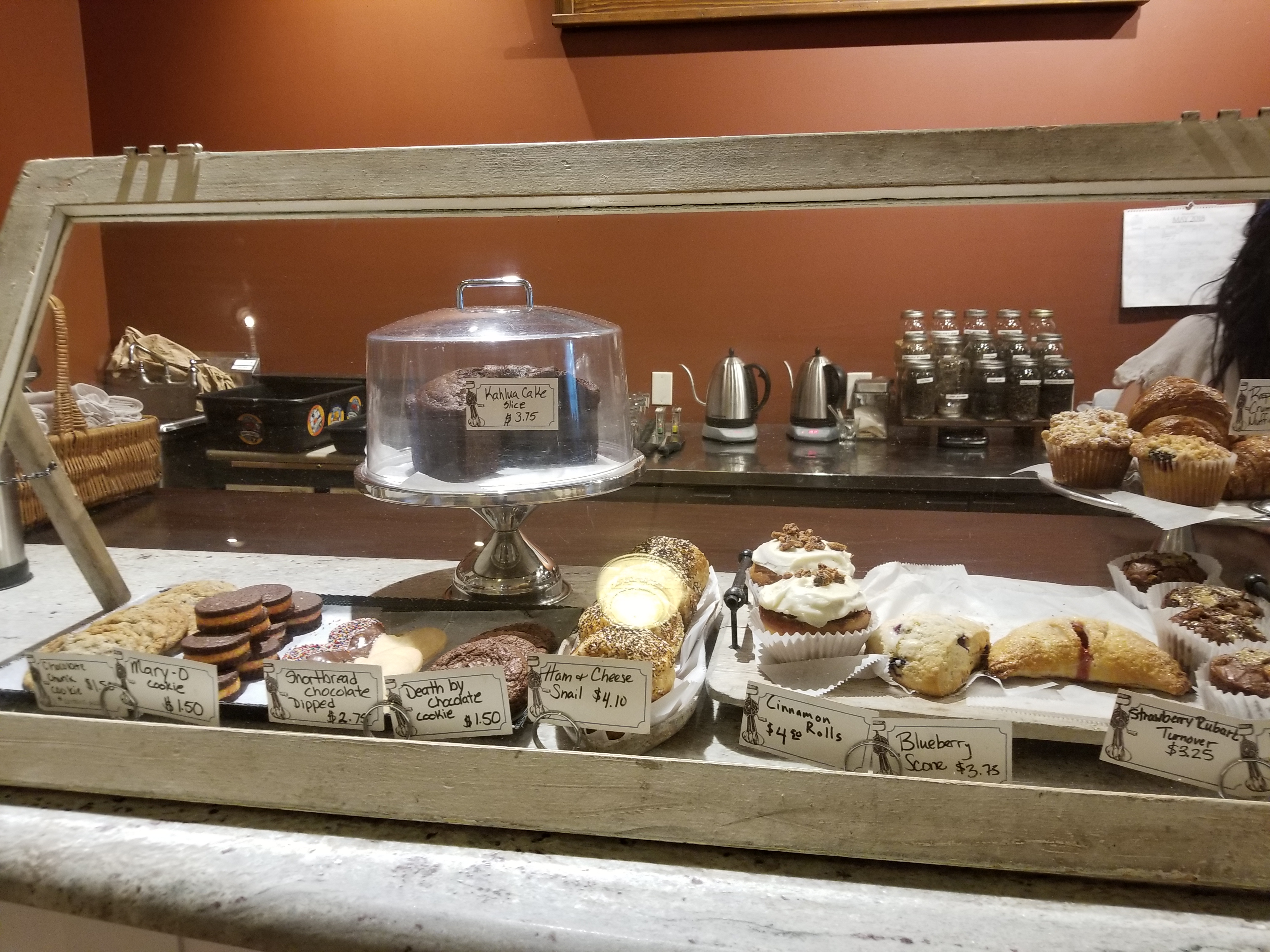 Old Bakery display case