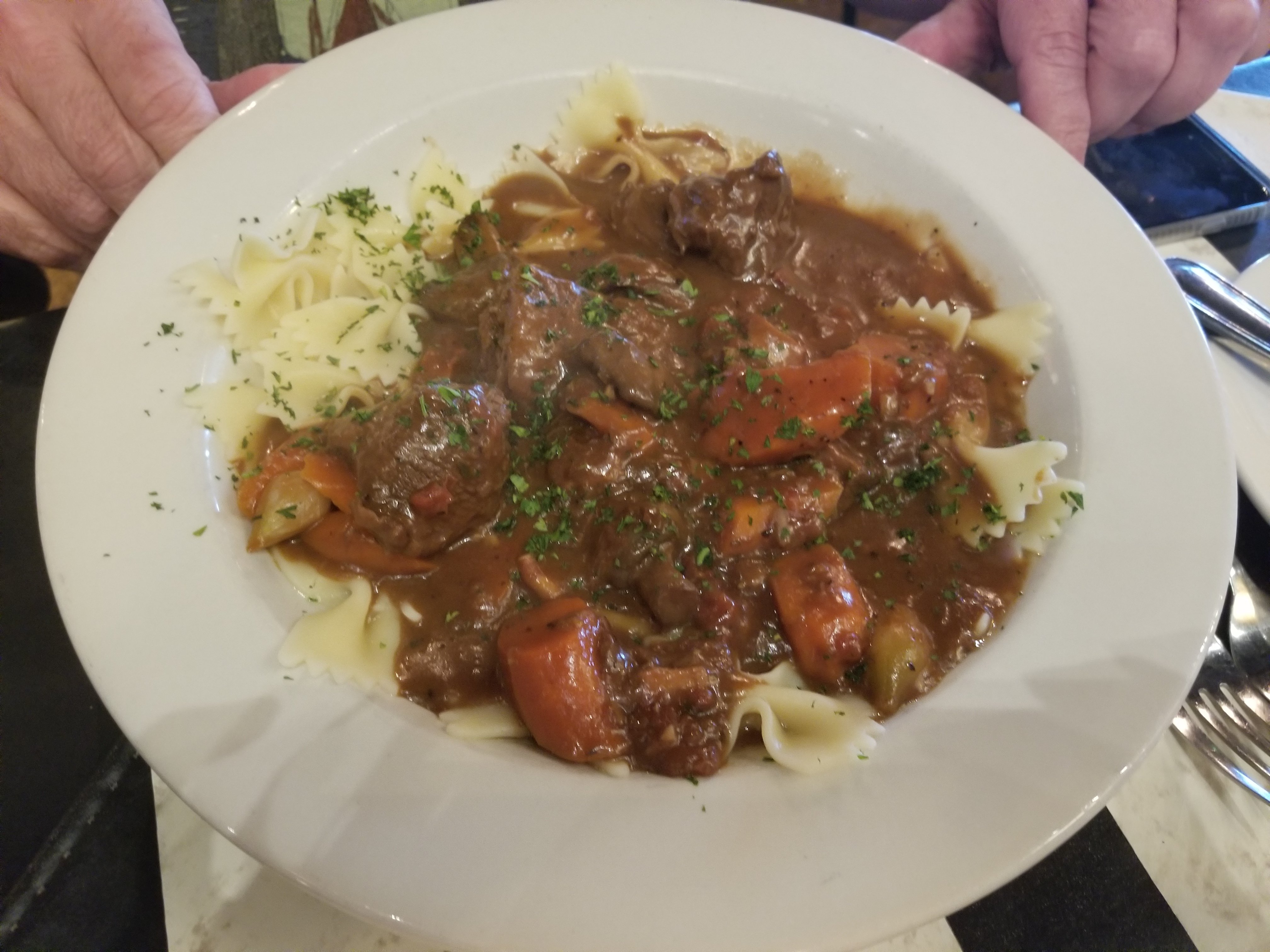 Le Beouf Bourguignon (Beef Burgundy)