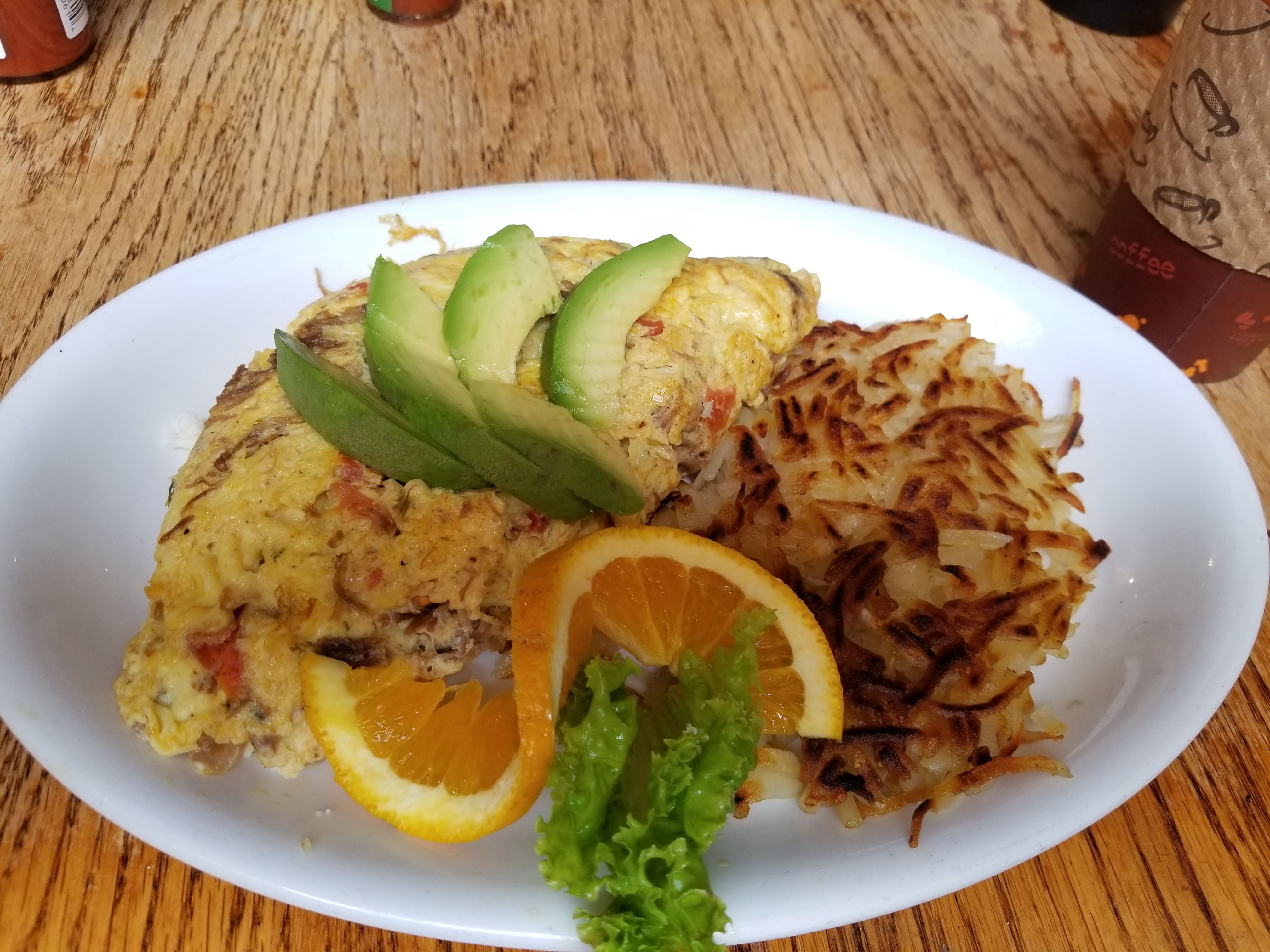 Denver Omelet with Hashbrowns