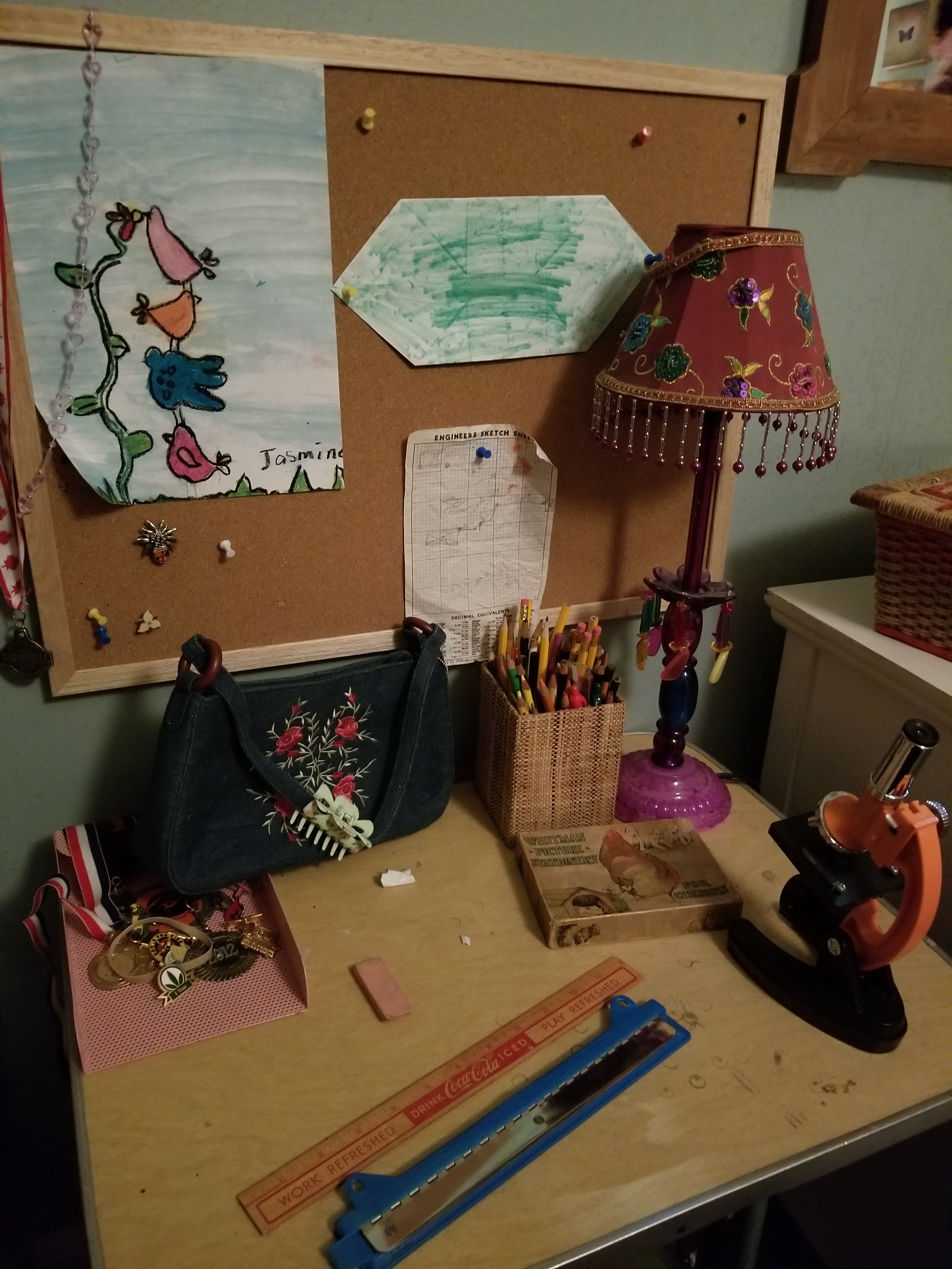Science For Girls (aka. Lucy's Desk)