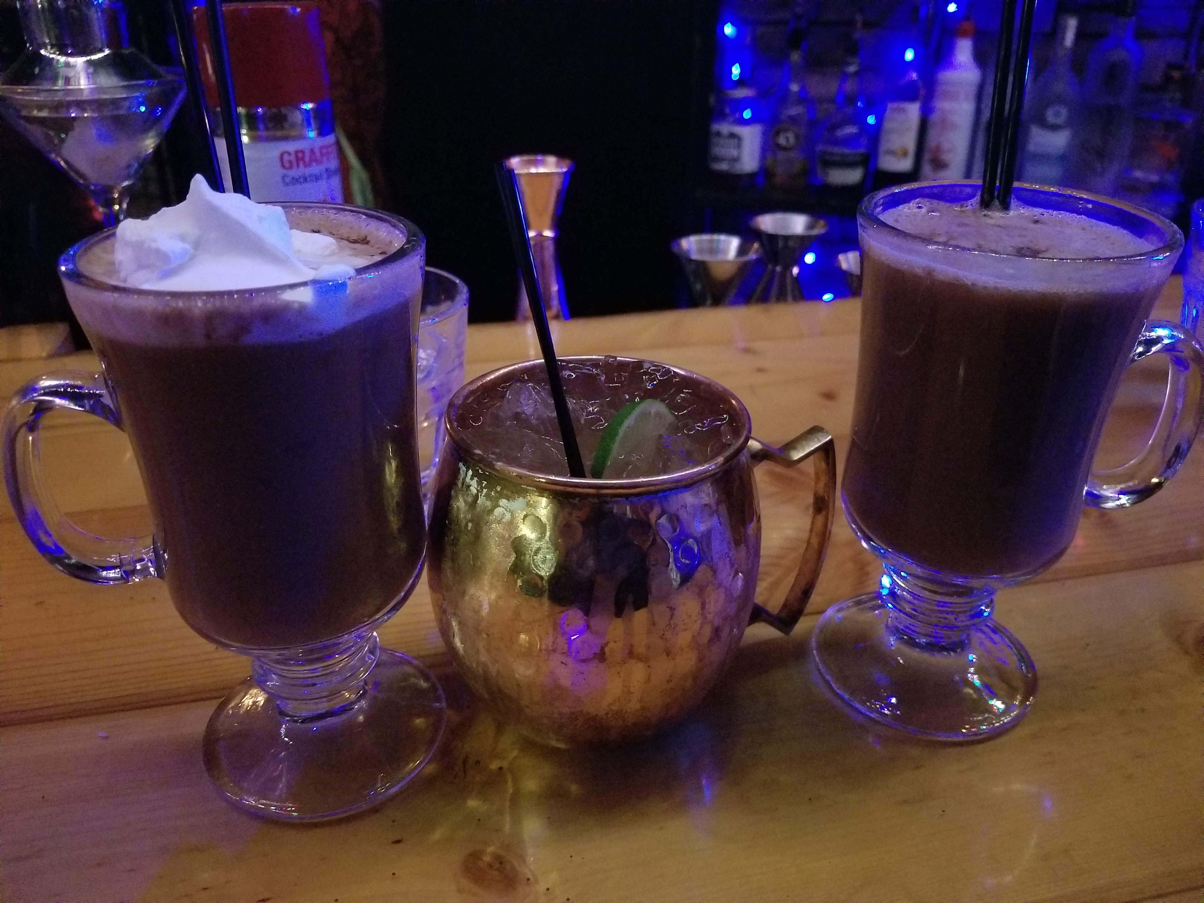Peppermint Heat, Apple Pie Mule, and Butter Baby!