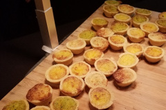 Herb & Garlic Mini Quiche / Photo Credit: Nerdy Curiosities