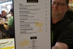 Drinks Menu / Photo Credit: Nerdy Curiosities
