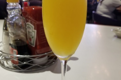 Complimentary Mimosa / Photo Credit: Nerdy Curiosities