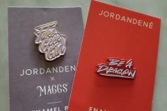 Jordandené: Enamel Pins