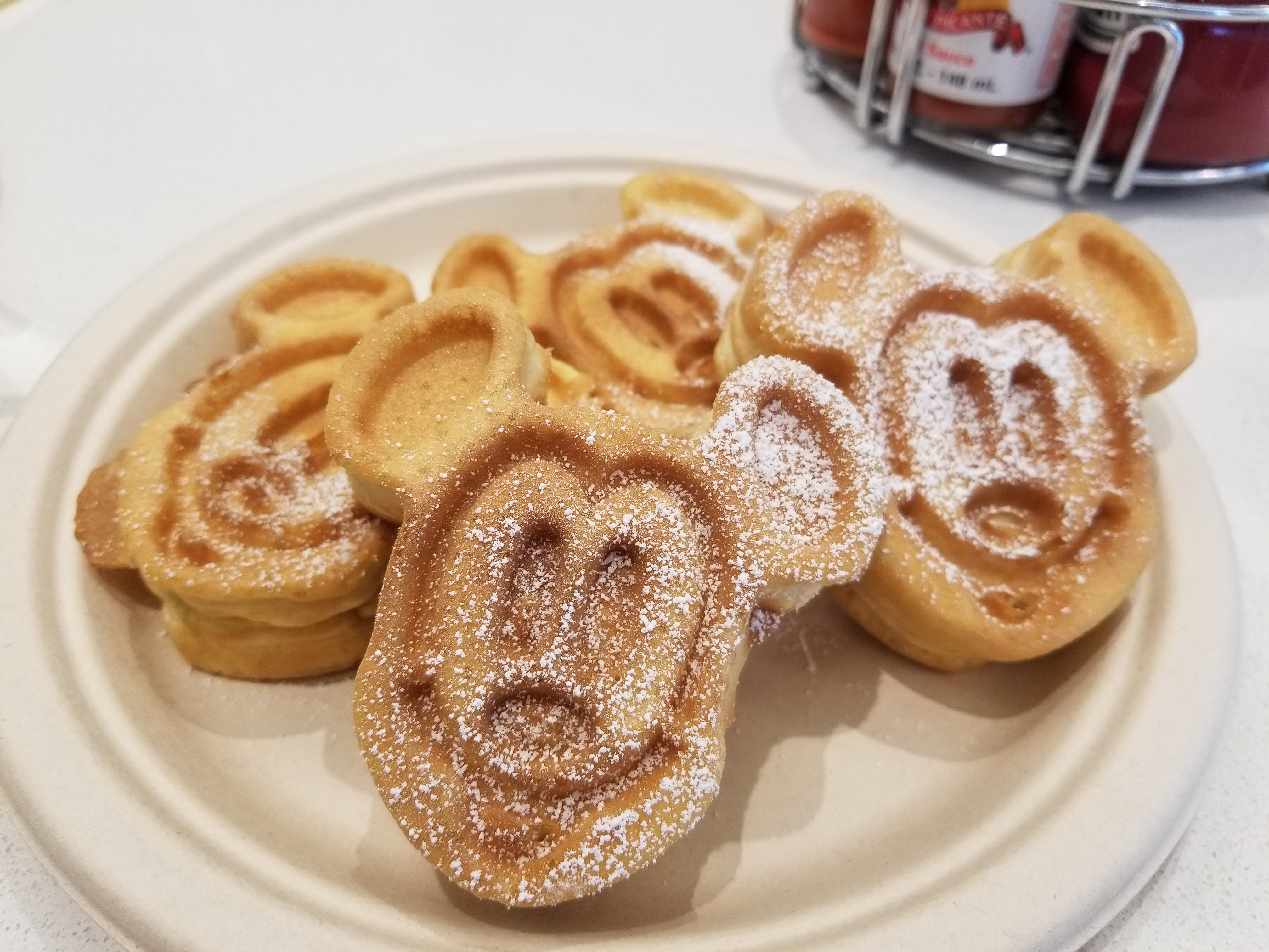 Mickey Mini Waffles!