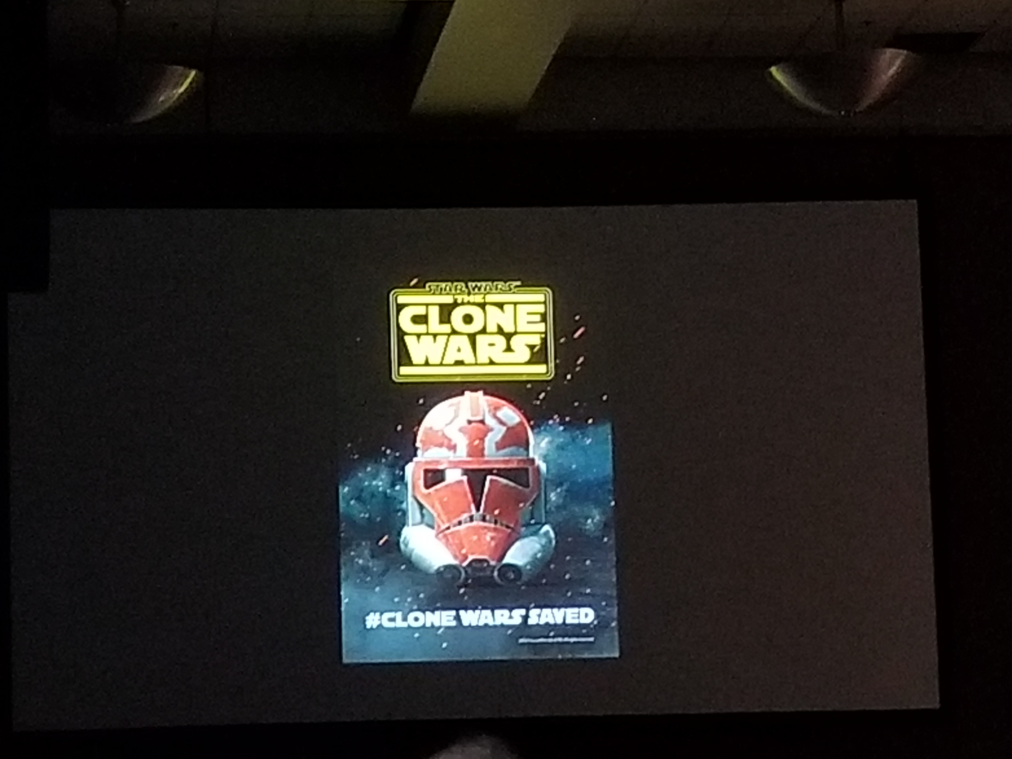 New Clone Wars Poster!