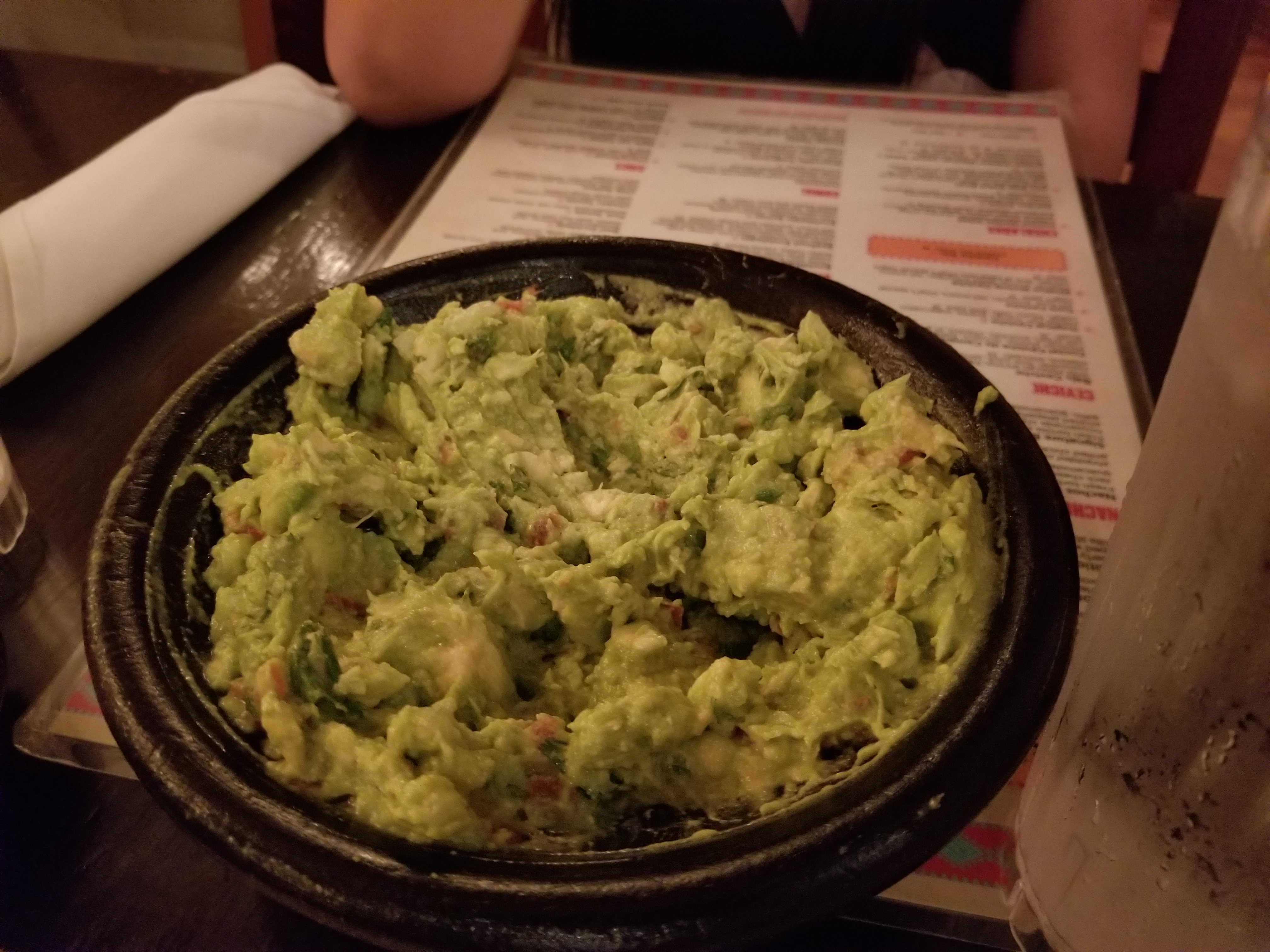 Tableside Guacamole!