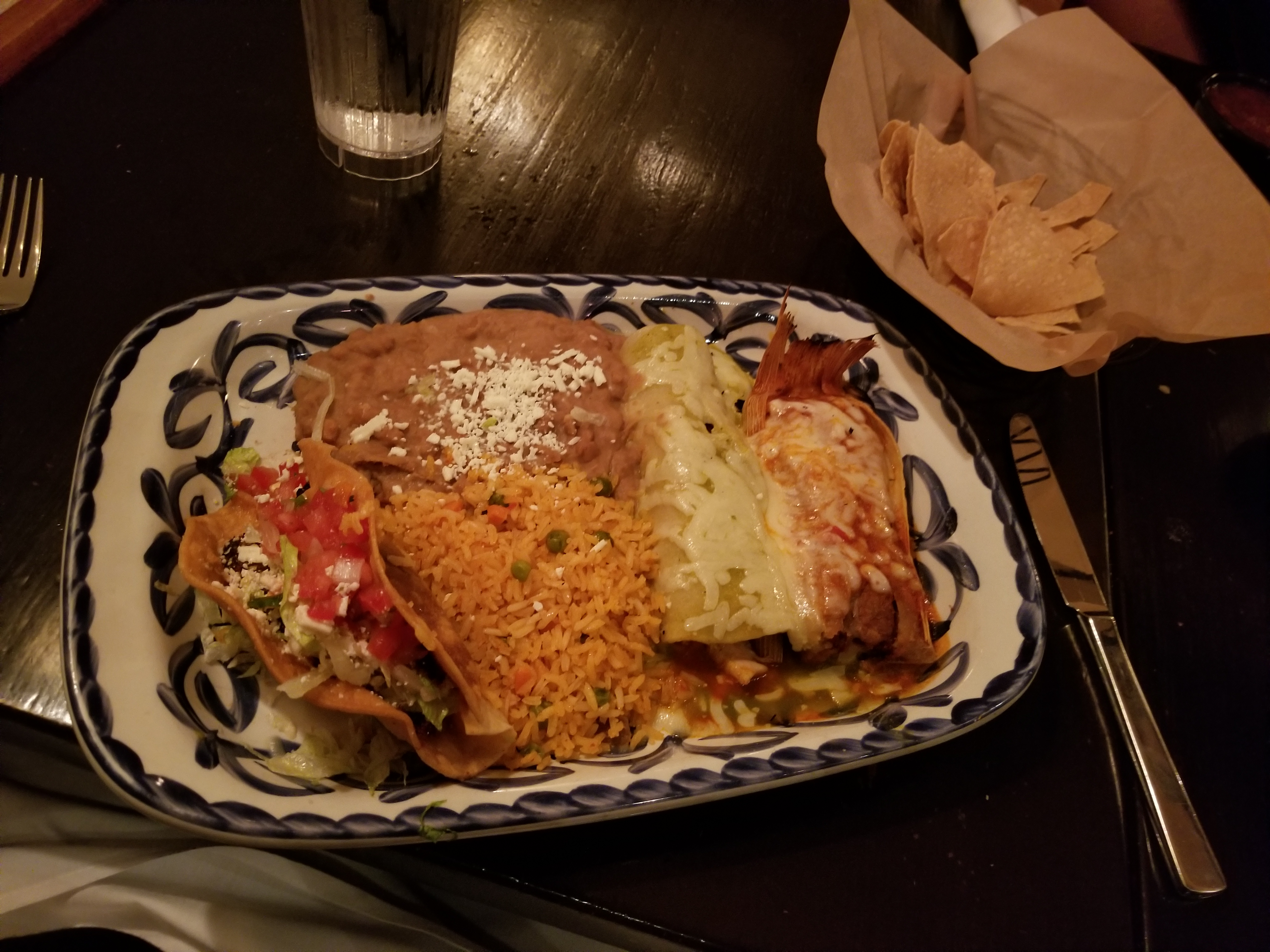 Chicken Enchilada (3-Item Combo)