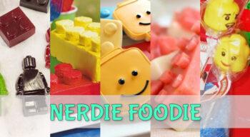 nerdie foodie lego edition
