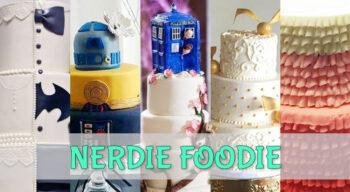 nerdie foodie nerdtastical wedding cakes