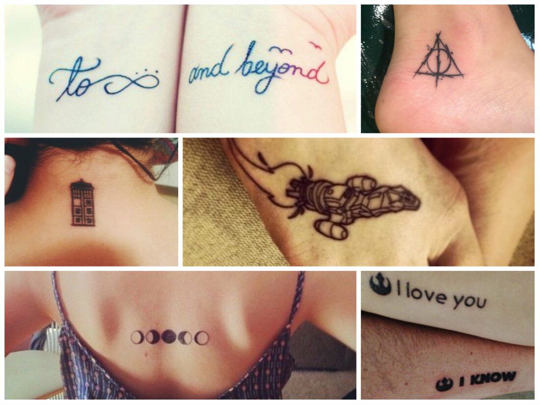 top nerdy 10 simple nerdy tattoos