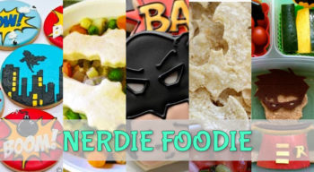 nerdie foodie batman edition