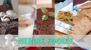 nerdie foodie christmas carbs