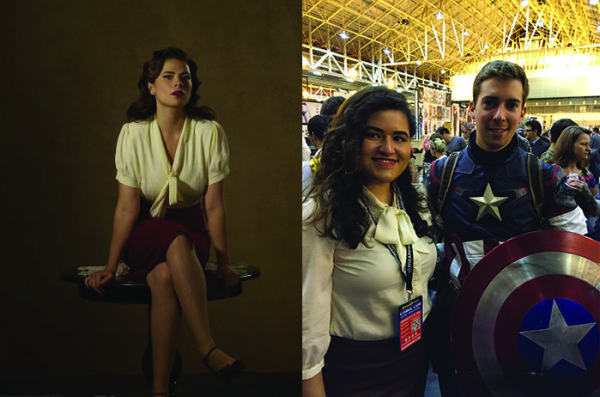 Peggy: Me & my prop Cap ;)