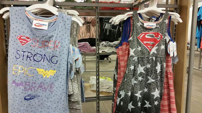 DC Superhero Girls Target Tanktop and Dress