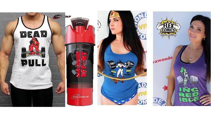 Nerdy Athletic Wear Flex Comics