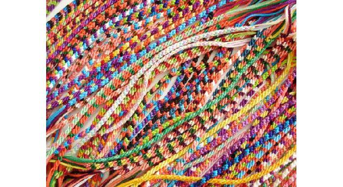 90s Macrame Friendship Bracelets