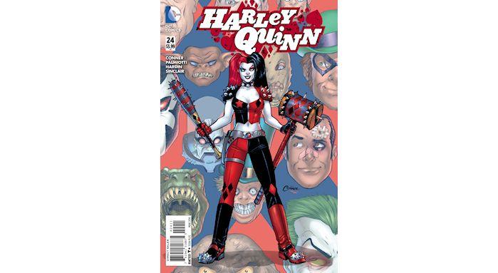 harley quinn comic'