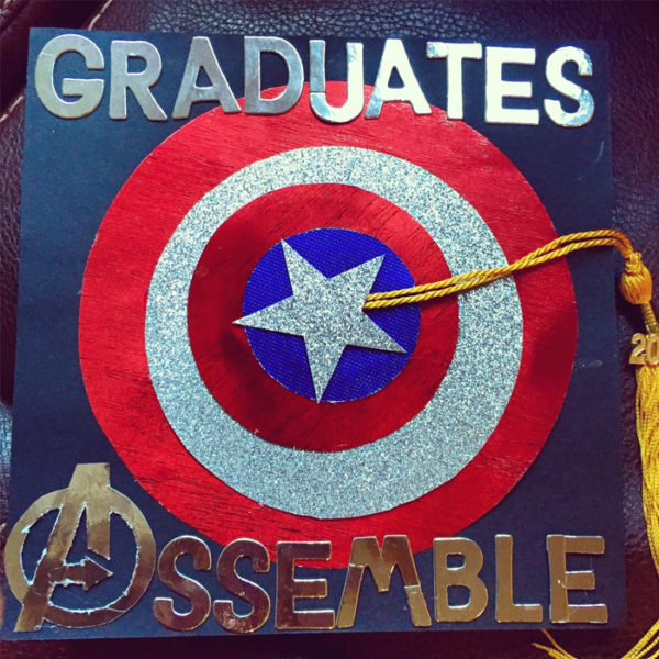 top nerdy ten grad caps avengers