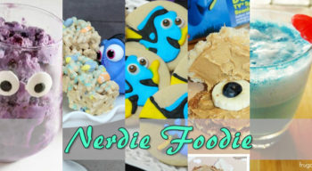 nerdie foodie finding dory