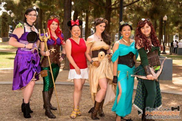 Steampunk Princesses