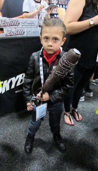 Check out this adorable Negan. Isn't his scowl just precious?