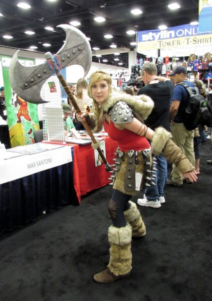 Astrid from How to Train your Dragon